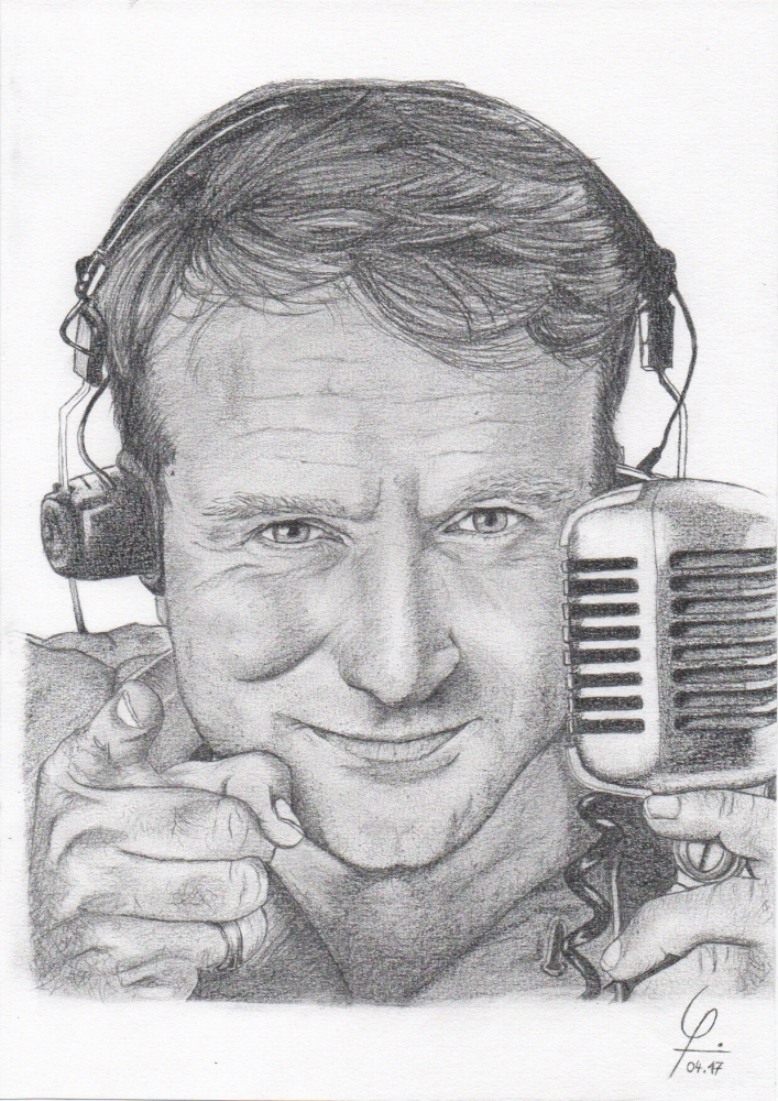 Robin Williams by Tetell73